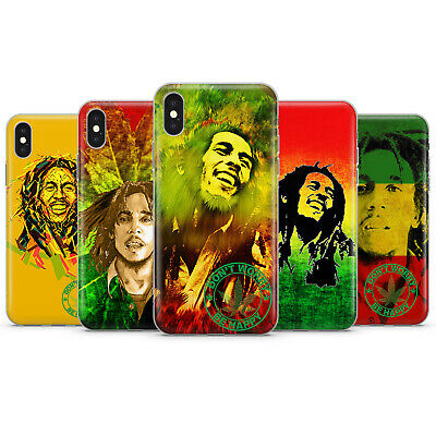 BOB MARLEY RASTAMAN REGGAE PHONE CASE COVER FOR IPHONE 5 6 7 8 6+ 7+ 8+ X Xs Xr • 7.49£