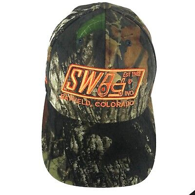 Swag Kubota Camo Baseball Cap Hunting Hat Camouflage Bayfield Colorado  Green • 19.98  37395d529fc