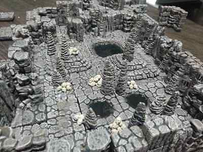 AU106.56 • Buy Caverns Terrain And Caves Set Starter Set Dungeons And Dragons D&D