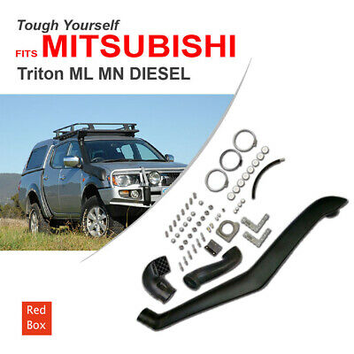 AU95.40 • Buy Snorkel Kit Fits MITSUBISHI TRITON ML MN 2.5 TURBO DIESEL 2006-2011 Air Intake