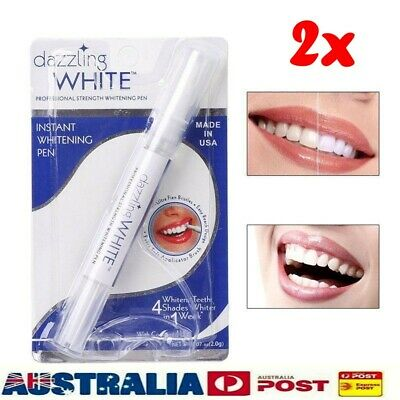 AU10.99 • Buy 2X  Dazzling White Tooth Cleaning Tool Dental Teeth Whitening Gel Pen Bleaching