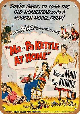 $18.95 • Buy Metal Sign - 1953 Ma And Pa Kettle At Home - Vintage Look Reproduction