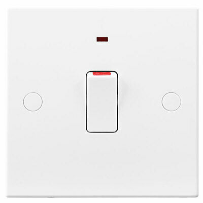 £2.79 • Buy Bg British General 20a Double Pole Neon Wall Switch Power Indicator
