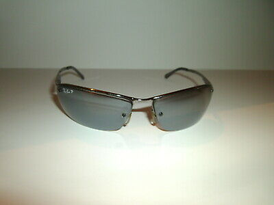 a00eefe4006 Authentic Vintage Ray-ban Polarized Sunglasses  RB 3183 TOP BAR • 29.99
