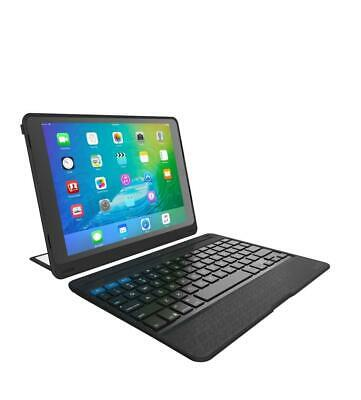 AU263.95 • Buy ZAGG Rugged Book Pro Magnetic-Hinged Bluetooth Keyboard Case For Apple IPad Pro