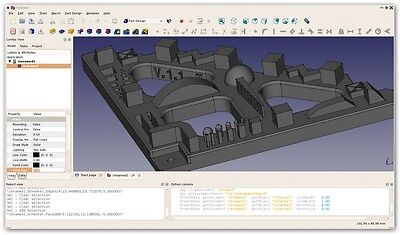 3D Parametric Modeling CAD  Design Drafting Software Windows  & 3d Printer Cnc • 8.58£
