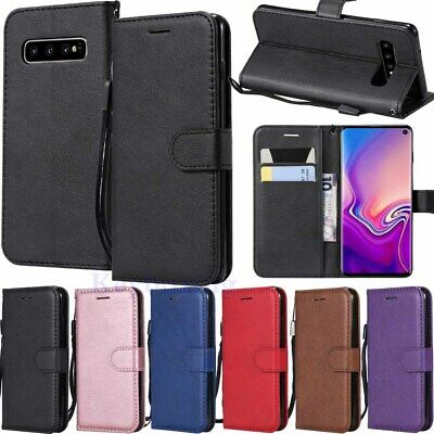 $ CDN6.17 • Buy For Samsung Galaxy S10 S10e S9 S8 A6 A7 A8 Wallet Card Holder Leather Case Cover