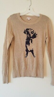 $6.99 • Buy Merona Womens Dog Sweater Size Small