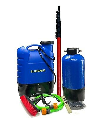 Complete Water Fed Window Cleaning System - Backpack- Pure Water - Ready To Use • 299£