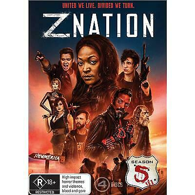AU25.50 • Buy Z Nation Season 5 Dvd, New & Sealed, 2019 Release, Free Post