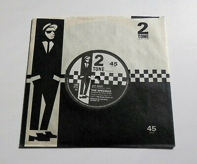The Specials - Rat Race UK 1980 Two Tone 7  Single Paper Labels • 29.99£