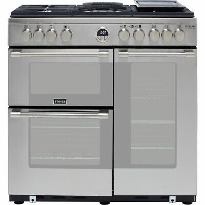 £1458 • Buy Stoves Sterling Deluxe S900G 90cm 5 Burners A/A Gas Range Cooker Stainless