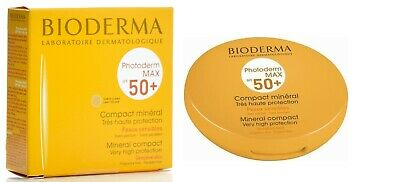£24.90 • Buy Bioderma Photoderm Max Spf50+ Mineral Compact Face Powdery Finish Light Claire