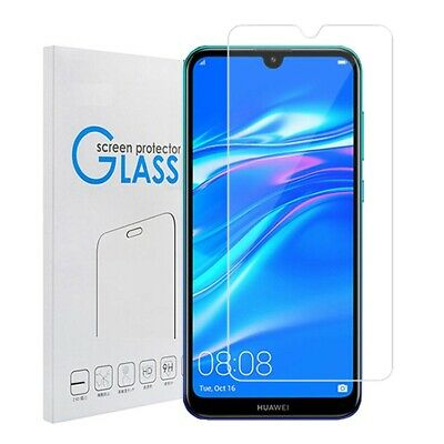 AU6.99 • Buy 2x Tempered Glass LCD Screen Protector Film Guard For Huawei Y7 Pro / Y7 2019