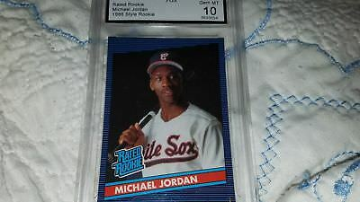 Michael Jordan Baseball Card