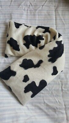 Lavender And Wheat Bag. Microwaveable Cushion In Faux Cow Print • 5£