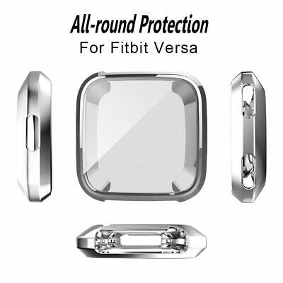 $ CDN5.57 • Buy Screen Protector Compatible Fitbit Versa Accessories Ultra Soft Full Cover Case