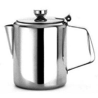 £12.79 • Buy Zodiac Hinged Coffee Pot Teapot Milk Pot Stainless Steel Catering 1.5 Litre