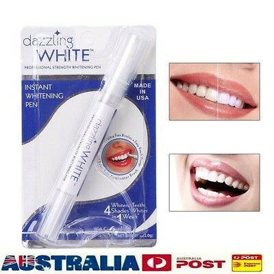 AU5.99 • Buy Dazzling White Tooth Cleaning Tool Dental Teeth Whitening Gel Pen Bleaching Hot