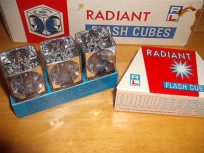 $49.50 • Buy Radiant Flash Cubes, Made In Holland In Original Box.