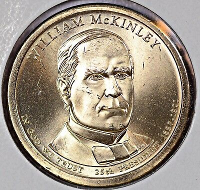 $2 • Buy President William McKinley Coin 2013-P ** Finish Your Collection **