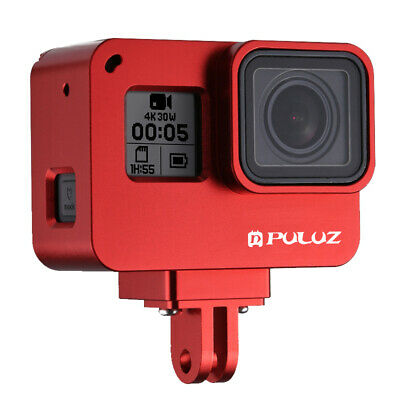 $ CDN27.48 • Buy PULUZ Housing Shell Aluminum Alloy Protective Frame Cage Case For GoPro HERO6 5