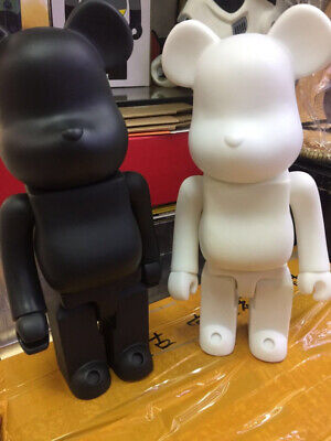 $53.99 • Buy Bearbrick DIY Paint 400% Bear@brick Art New Toy Color White And Black Hot 2021