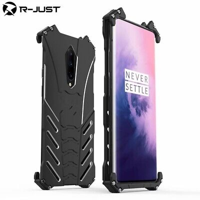 AU25.49 • Buy For Oneplus 7T 7 / 7 Pro 6T 6 5T R-JUST Metal Aluminum Shockproof Armor Cover