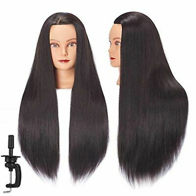 $26.59 • Buy 26 -28  Cosmetology Mannequin Head Human Hair Hairdressing Training Model Doll