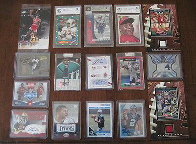 $9.99 • Buy 25 Card Combo Lots Jersey, Auto, Graded Card, Rc, , Lots Of $10-20 Cards In Lots