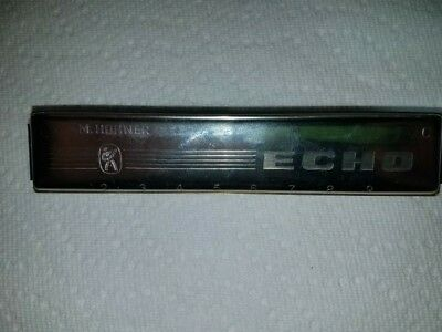 $59 • Buy Vintage M Hohner Echo No. 2509 Harmonica Made In Germany