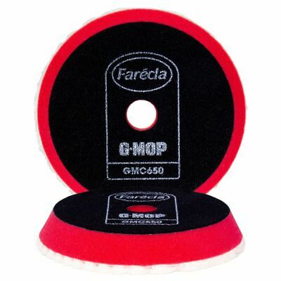 Farecla 6 Red G Mop Super High Cut Compounding Durable Pad 150mm GMC650 • 19.75£