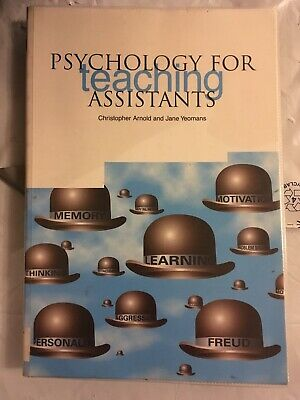 £9.75 • Buy Psychology For Teaching Assistants By Jane Yeomans, Christopher Arnold...