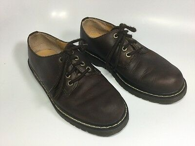 afde7852e1d Women s Candie s Brown Leather Lace-Up Clogs Shoes W  Rubber Soles Womens  Size 7