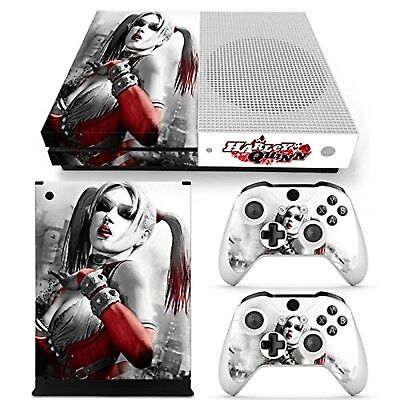 $8.99 • Buy Xbox One S Console Skin Decal Sticker Harley Quinn + 2 Controller Skins Set USA