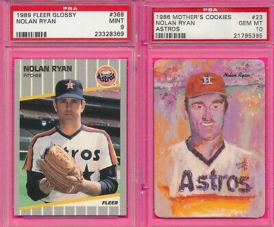 Nolan Ryan Psa Lot