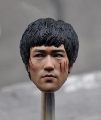 $47.77 • Buy 1/6 Bruce Lee KM16-45 Head Sculpt F Phicen Hot Toys Enterbay Male Figure Body
