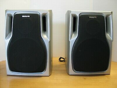 $100 • Buy Aiwa Book Shelf Speakers Model SX-NA74