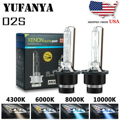 $9.84 • Buy D2S/D2C HID Xenon Bulb OEM Replacement Lamps For Phillips&Osram 85122 Pure White