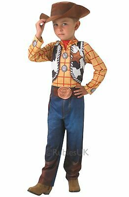 WOODY Kids Disney Toy Story Cowboy Boys Fancy Dress Costume Outfit Licensed • 20.99£
