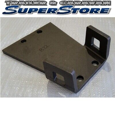 AU52.50 • Buy Trailer Coupling Base Plate With Safety Chain Attachment Points 4 Hole B22