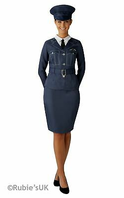 WRAF Costume 1930s 1940s Ladies Uniform Fancy Dress Outfit Military World War • 18.99£