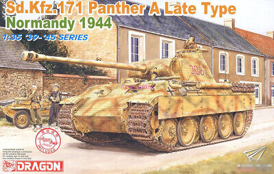 DRAGON 1/35 6168 '39-'45 Series Sd.Kfz.171 Panther A Late Type • 49.16£