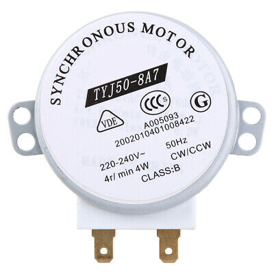 £3.54 • Buy 220-240V 4W Synchronous Motor For Air Blower TYJ50-8A7 Microwave Oven Tray Motor