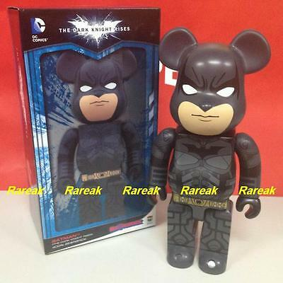 $485.99 • Buy Medicom Be@rbrick Warner Brothers Batman 400% The Dark Knight Rise Bearbrick 1pc