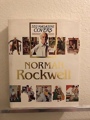 $ CDN35.03 • Buy Norman Rockwell 332 Magazine Covers - Huge Hardcover Book - Finch - 1979