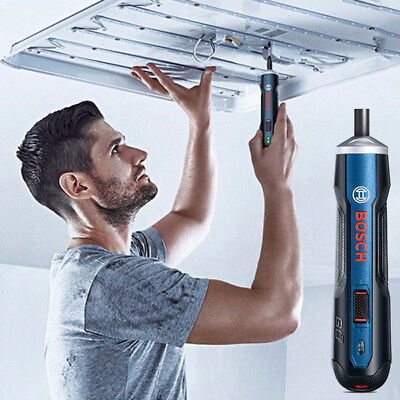 View Details BOSCH GO 3.6V Electric USB Rechargeable Screwdriver 6 Gears Cordless Tool 360RPM • 30.99£