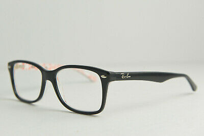 ce9f3731ac Ray-Ban RB 5228 5014 55-17 140 Eyeglasses Glasses Frame Black White Red