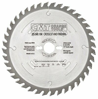 300mm Z=60 ATB Id=30 CMT Table / Rip Saw Blade • 52.74£