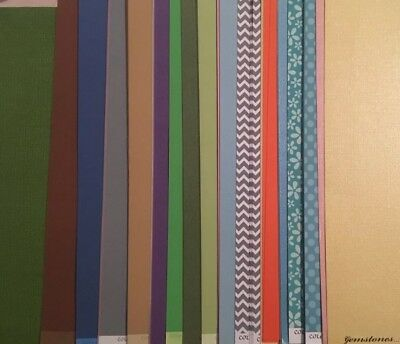 $23.99 • Buy Huge Lot  12 X 12 Core Dimensions Card Stock + Paper For Scrapbooking & Acces.